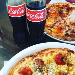Pizza e Coca